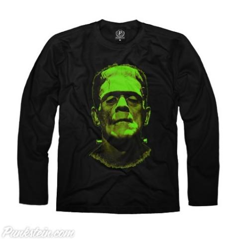 Manga Longa Masculina Frankenstein 1