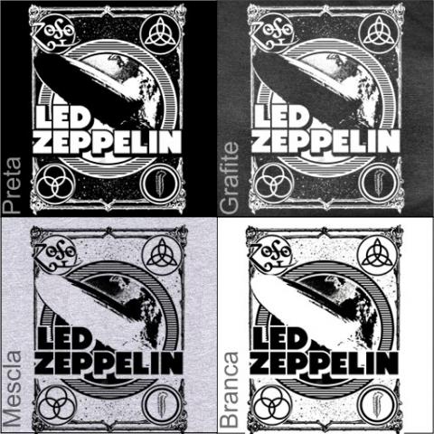 Manga Longa Masculina Led Zeppelin 2