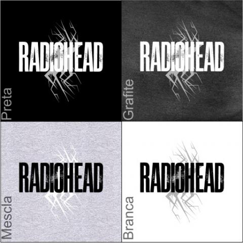 Manga Longa Masculina Radiohead 1