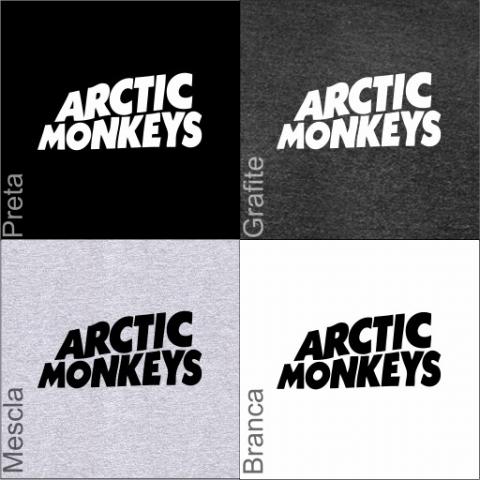 Manga Longa Masculina Arctic Monkeys 2