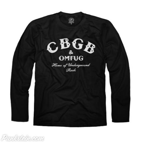 Manga Longa Masculina CBGB