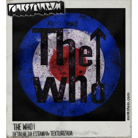 Manga Longa Masculina The Who 1