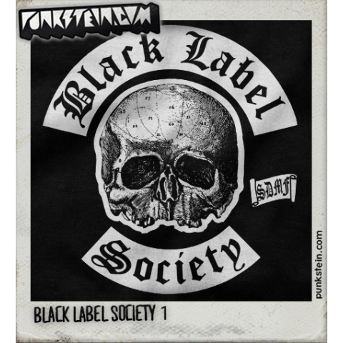 Manga Longa Masculina Black Label Society 1