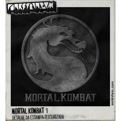 Manga Longa Masculina Mortal Kombat 1