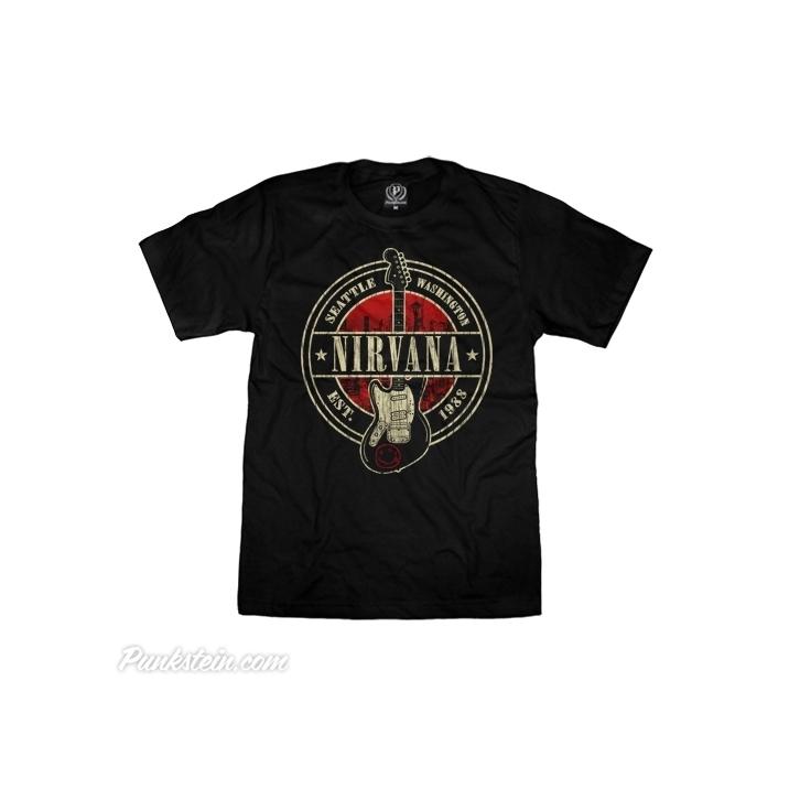 Camiseta Nirvana 2