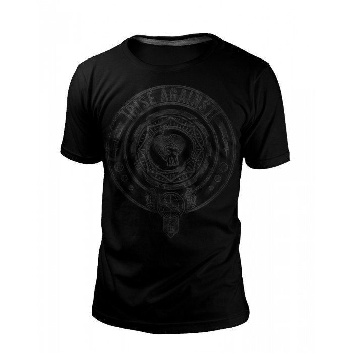 Camiseta Rise Against 2 BLACK SERIES