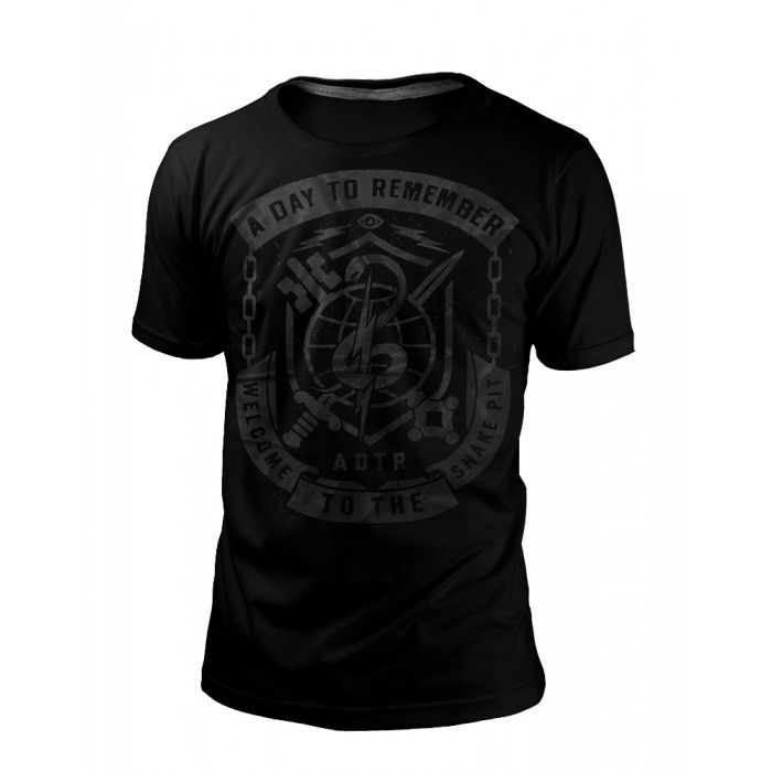 Camiseta A Day To Remember 3 BLACK SERIES