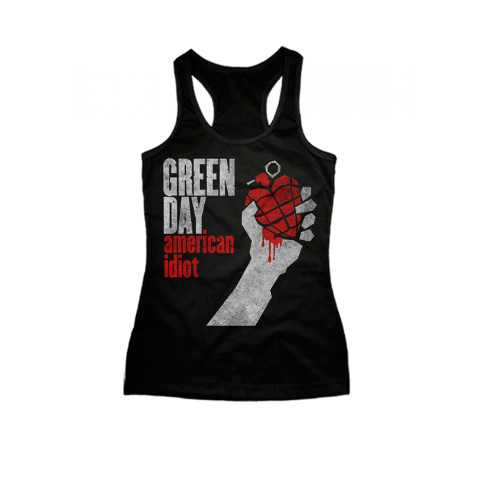 Regata Fem. Green Day - American Idiot