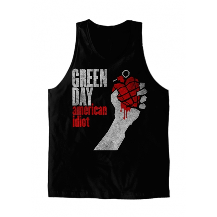 Regata Masc. Green Day - American Idiot