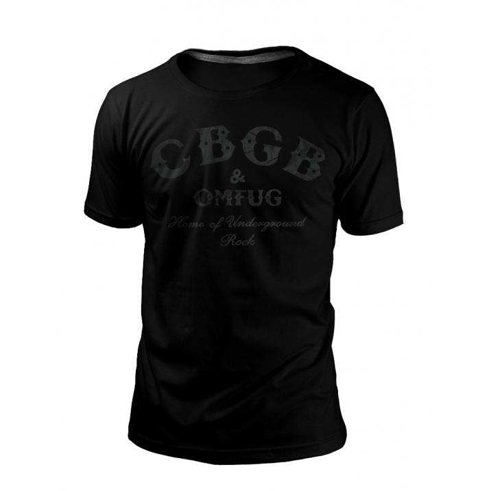 Camiseta CBGB BLACK SERIES