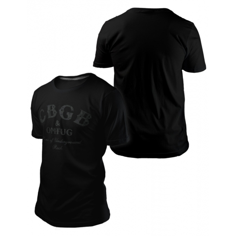 Camiseta CBGB BLACK SERIES