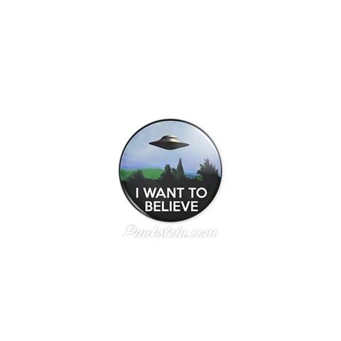 Botton I Want to Believe