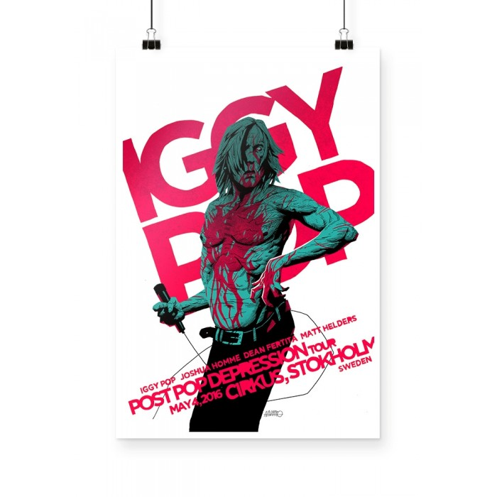 Poster Iggy Pop