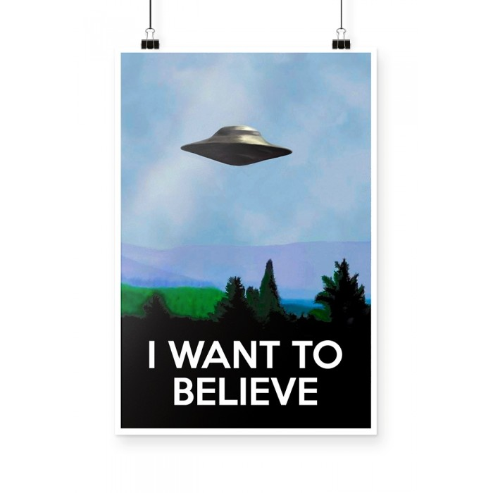Poster X Files I Want to Believe