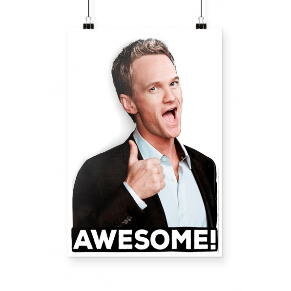 Poster How I Met Your Mother Barney