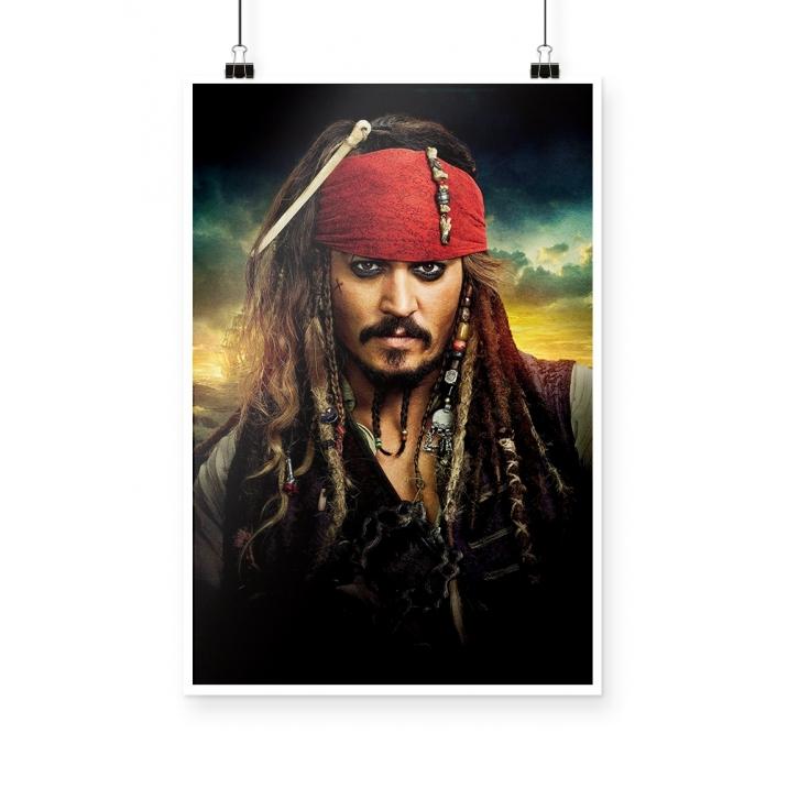 Poster Piratas do Caribe
