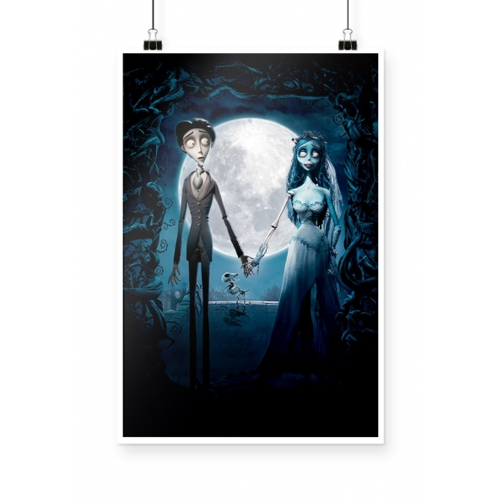 Poster Noiva Cadáver