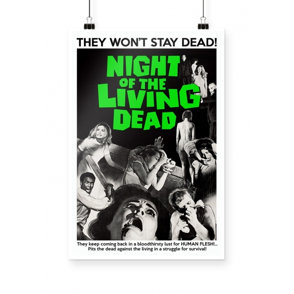 Poster Night of The Living Dead