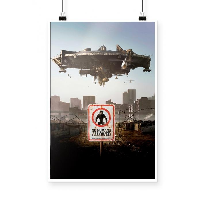 Poster Distrito 9