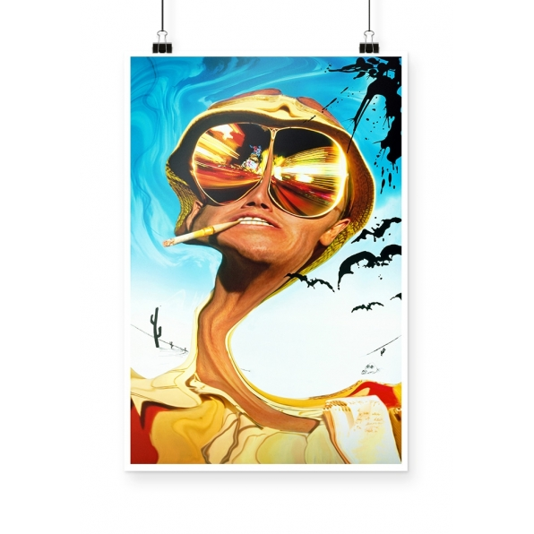 Poster Fear and loathing in Las Vegas