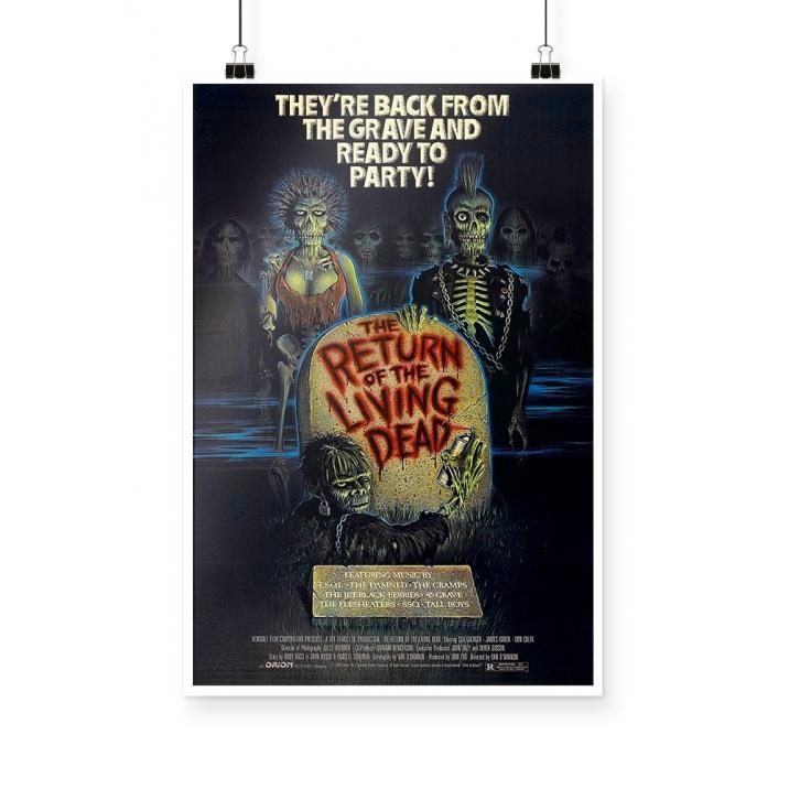 Poster Return of The Living Dead