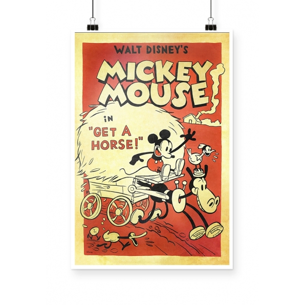Poster Mickey Vintage