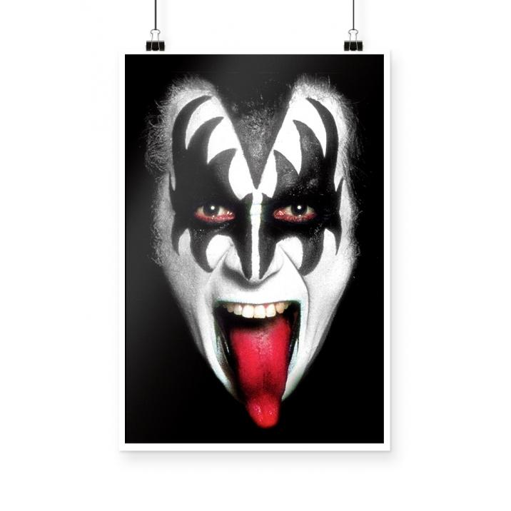 Poster Gene Simmons Kiss