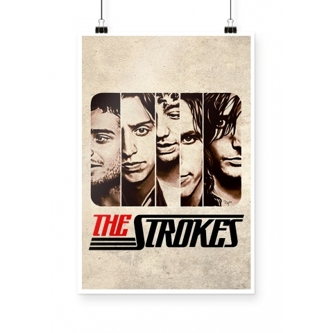 Poster the Strokes