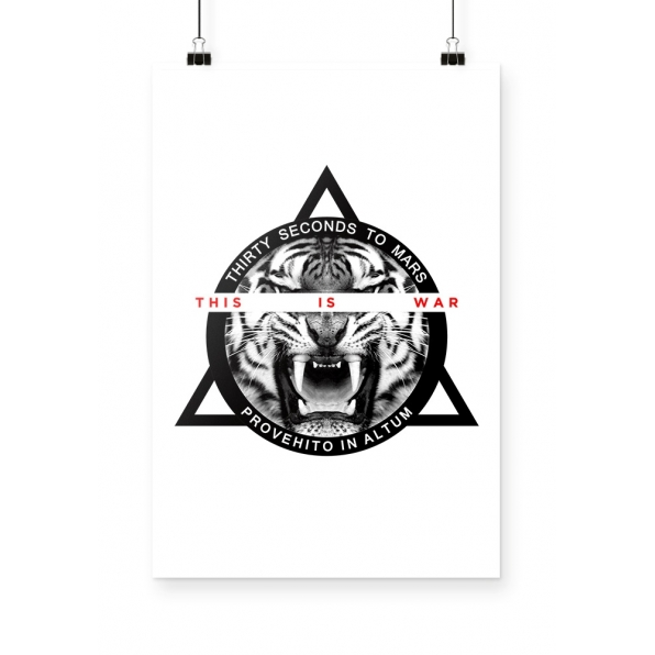 Poster 30 Seconds to Mars