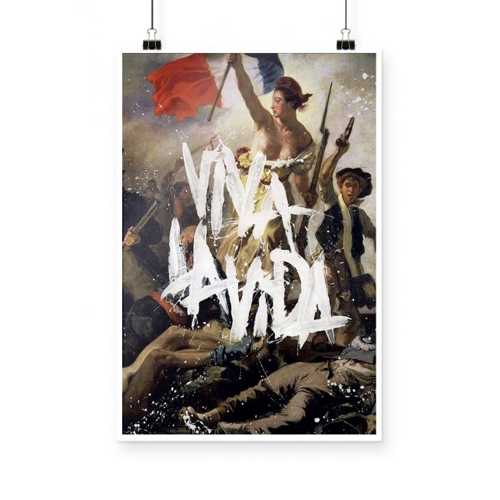 Poster Coldplay viva la vida