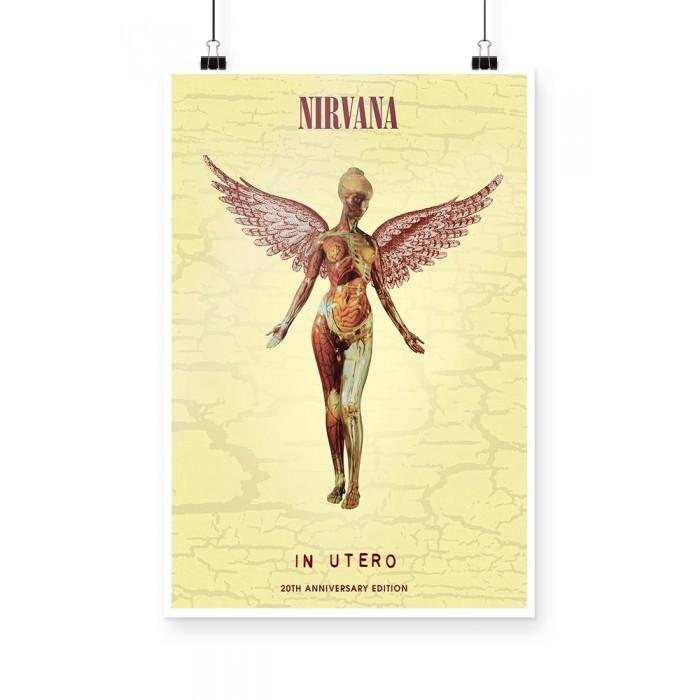 Poster Nirvana in utero
