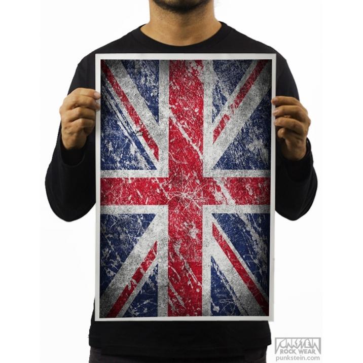 Poster England Flag