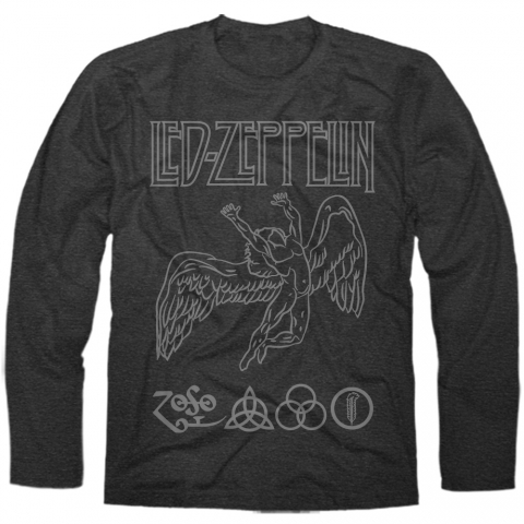 Manga Longa Masculina Led Zeppelin 1
