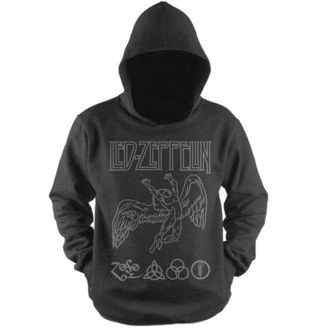 Moletom com Capuz Led Zeppelin 1