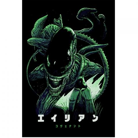 Moletom com Capuz Alien 2