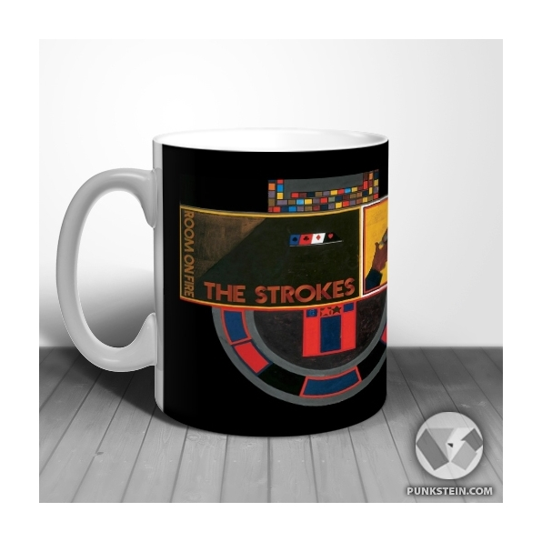 Caneca The Strokes first impressions of earth