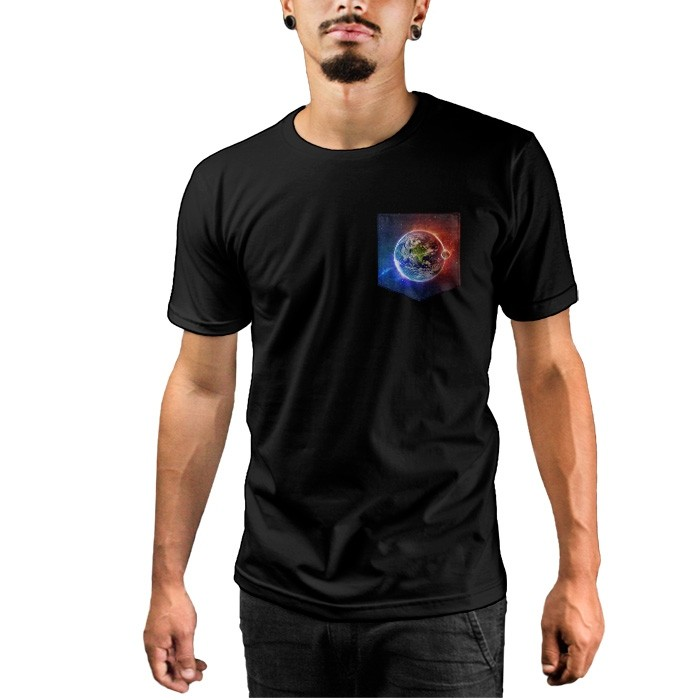 Camiseta c/ Bolso Earth