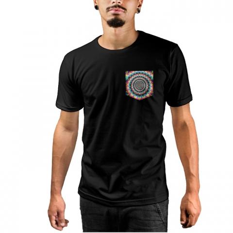 Camiseta c/ Bolso Psycho