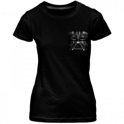 Babylook c/ Bolso Psycho Darth Vader