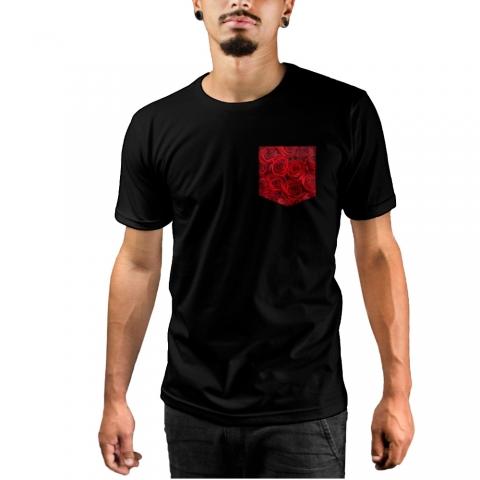 Camiseta c/ Bolso Roses