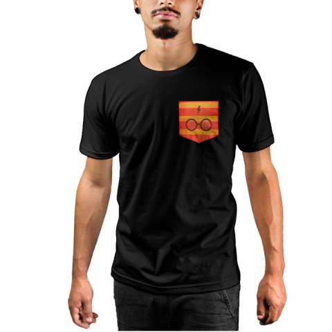 Camiseta c/ Bolso Harry Potter