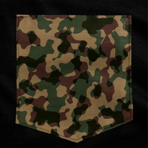 Camiseta c/ Bolso Camo