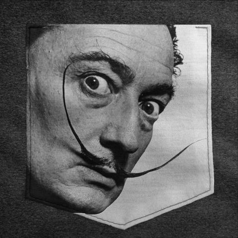 Camiseta c/ Bolso Dalí