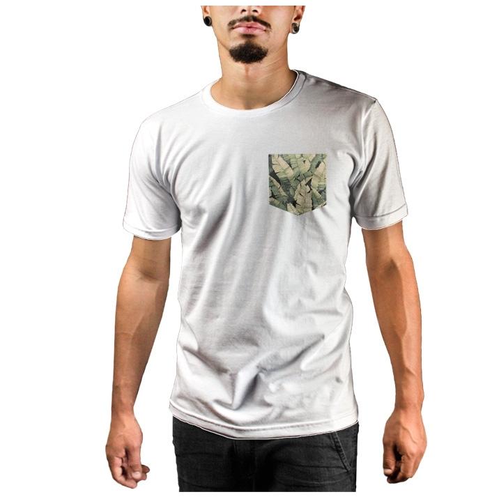 Camiseta c/ Bolso Banana Floral