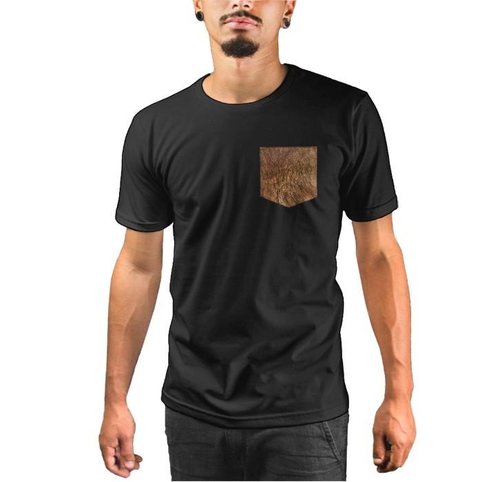 Camiseta c/ Bolso Fur