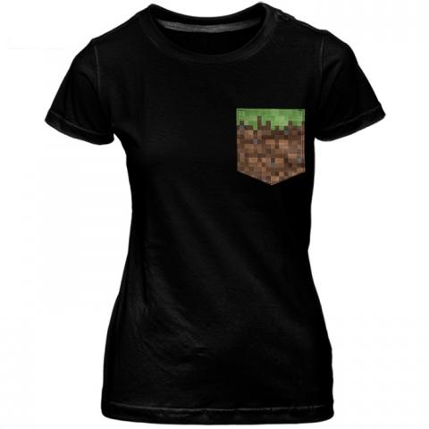 Babylook c/ Bolso Minecraft
