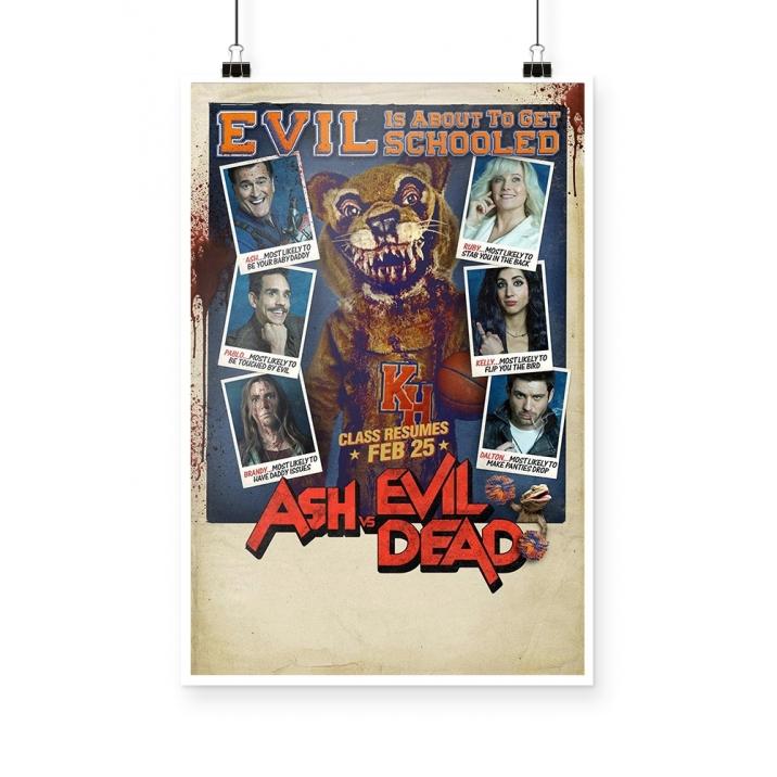 Poster Ash vs Evil Dead