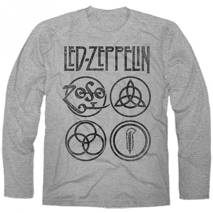 Manga Longa Led Zeppelin 3