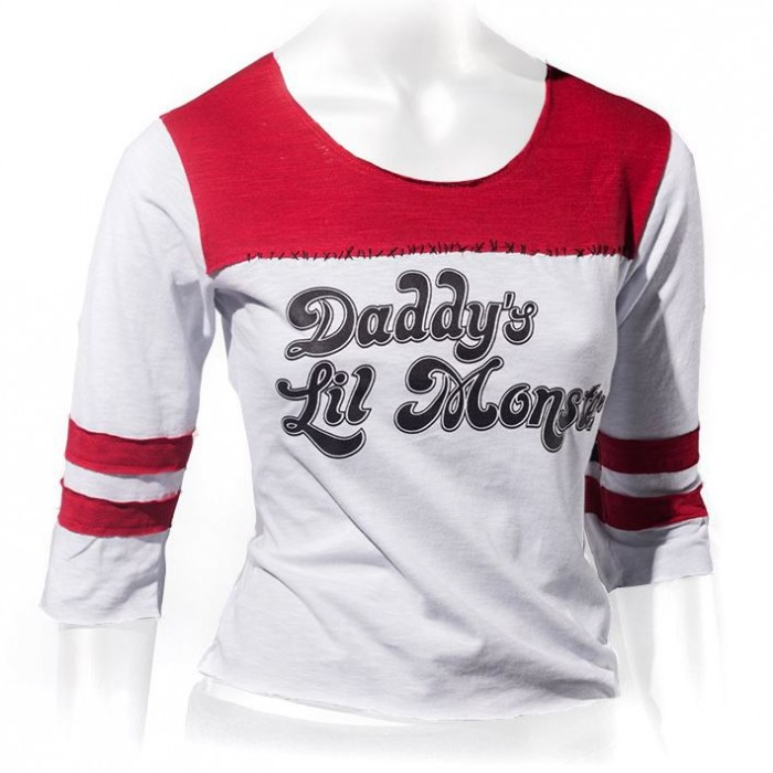 Babylook Suicide Squad - Daddy's Lil Monster