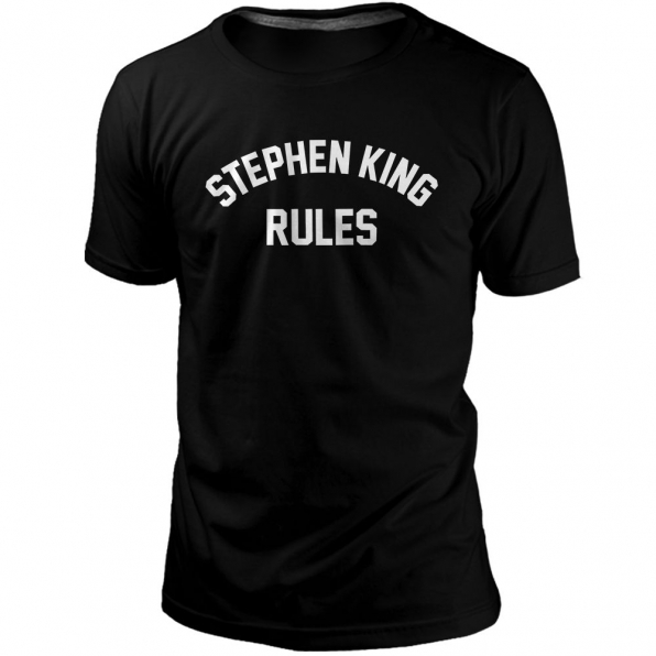 Camiseta Stephen King Rules